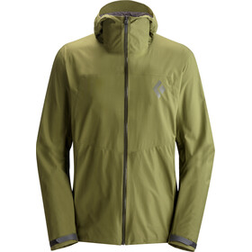 Black Diamond M's Liquid Point Shell Jacket Burnt Olive